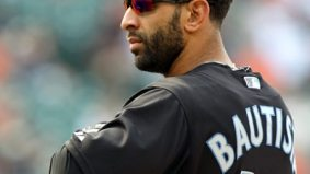 Toronto Blue Jays' Jose Bautista breaks the record for most all-star votes and is featured in Sports Illustrated