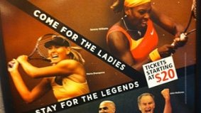 Tennis Canada accused of sexism for Rogers Cup ad