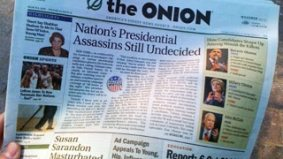 Satire-loving Torontonians (who aren't into the whole Internet thing) rejoice: The Onion's print edition has arrived