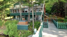 Cottage of the Week: $1.3 million for a pretty Acton Island property with a luxurious master bedroom