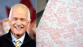 Reaction Roundup: An outpouring of love, respect and grief in the wake of Jack Layton's death