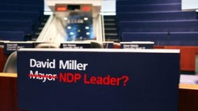 David Miller's name is being floated for the NDP's top spot, but can anyone from Toronto win (again)?