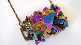 The Find: a jagged crystal necklace for geologists (possibly?), or women who like to stand out