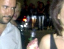 SPOTTED: A snap-happy Dave Matthews outside Grey Goose Soho House last night