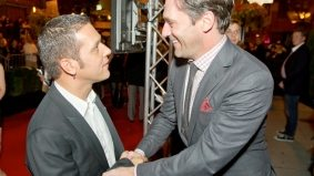 Jon Hamm, Paul Haggis, Morgan Spurlock and more came out to George Strombo's Hazelton Hotel fete