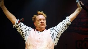 SPOTTED: Johnny Rotten lands in Toronto at Pearson International Airport