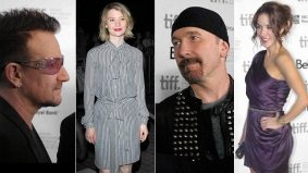RED CARPET POLL: Bono, Mia Wasikowska and more from TIFF 2011's opening night