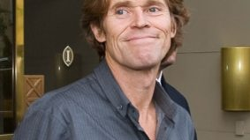 SPOTTED: Willem Dafoe isn't happy about something at Pearson International Airport