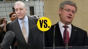 Conrad Black attacks Stephen Harper's law-and-order agenda with a lot of big words