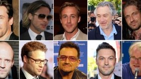 TIFF 2011 Roundup: the five o'clock shadow was this year's hottest accessory for men