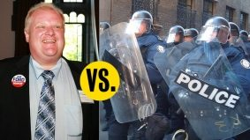 Police chief versus mayor: Bill Blair takes on Rob Ford over budget cuts