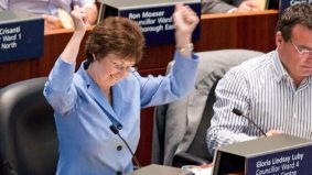 Has conservative councillor Gloria Lindsay Luby become a Ford Nation exile?