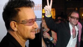 Bono lookalike caught working the crowd at TIFF's official opening night party