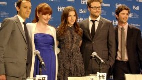 TIFF PHOTO GALLERY: Seth Rogen, Bryce Dallas Howard and Anna Kendrick at the 50/50 press conference