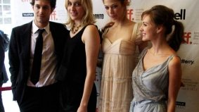 TIFF PHOTO GALLERY: Adam Brody, Greta Gerwig and Analeigh Tipton join Whit Stillman at the red carpet for Damsels in Distress
