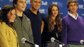 TIFF PHOTO GALLERY: George Clooney continues to lay on the charm at The Descendants press conference