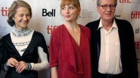 TIFF PHOTO GALLERY: Geoffrey Rush and Alexandra Schepisi walk the red carpet at the gala presentation of The Eye of the Storm