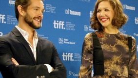 TIFF PHOTO GALLERY: Maggie Gyllenhaal talks about the female experience at the press conference for Hysteria