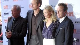 TIFF PHOTO GALLERY: Kirsten Dunst, Alexander Skarsgård and Kiefer Sutherland at the red carpet gala for Melancholia
