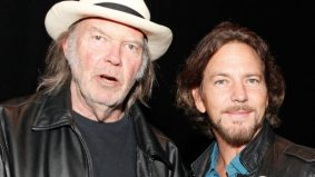 TIFF PHOTO GALLERY: Neil Young, Eddie Vedder and Daniel Lanois at the red carpet gala for Neil Young Journeys
