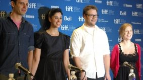 TIFF PHOTO GALLERY: Seth Rogen and Sarah Silverman hold court at the press conference for Sarah Polley's Take This Waltz