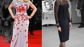 Venice vs. TIFF fashion showdown, Madonna edition