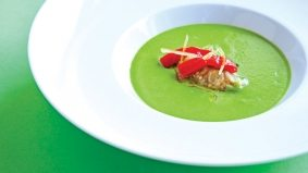 Chilled out: how to make Splendido's elegant cold zucchini soup at home