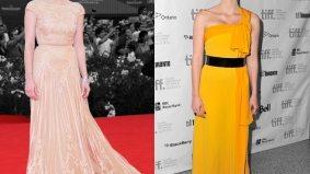 Venice vs. TIFF fashion showdown, Jessica Chastain edition
