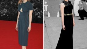 Venice vs. TIFF fashion showdown, Sarah Gadon edition