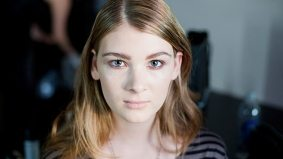 One boy's journey into the world of beauty and glamour: backstage at Greta Constantine spring/summer 2012