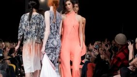 Jean-Pierre Braganza's spring/summer 2012 collection draws oohs and awws from the most frigid fashion editors