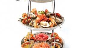 The $145 Grand Plateau at La Société is the city's most outrageous seafood feast