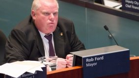 Rob Ford gives into the police budget, shoots himself in the foot