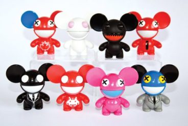 Deadmau5's merchandise includes figurines, hoodies and booty shorts. in 2010, He grossed $2 million in ticket sales.