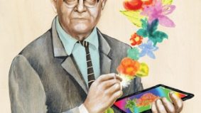 The Argument: David Hockney's iPad paintings show that a cool device can't rescue bad art