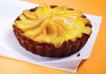 Grace's gingersnap cheesecake tart