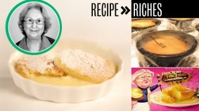 Recipe to Riches reviewed: Episode 1, Luscious Lemon Pudding Cakes