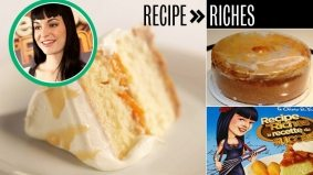 Recipe to Riches reviewed: Episode 2, Rock n' Peach Bliss Cheesecake