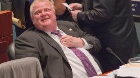 The Globe continues to scrutinize Rob Ford's campaign finances; Rob Ford continues to come off poorly