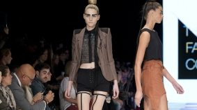 Sid Neigum makes some questionable styling choices, but still hits one out of the park at Toronto Fashion Week