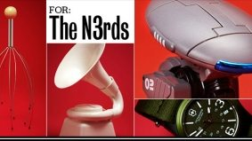 Holiday Gift Guide 2011: 10 amazing tokens of affection for our favourite nerds