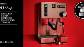Holiday Gift Guide 2011: an espresso maker for people who don't drink coffee by the pod