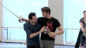 VIDEO: Watch two hot, sculpted Toronto men having a sword fight