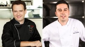 C5 chef swap: Corbin Tomaszeski's in, Ted Corrado's out (or, rather, up)