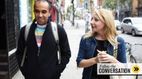 The Conversation: The Book of Awesome author Neil Pasricha laughs it up with Jessica Holmes