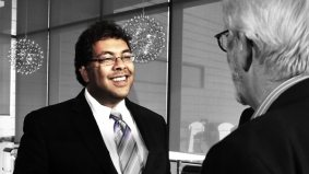 Camera: Meeting Calgary Mayor Naheed Nenshi at the first annual Urban Futures lecture