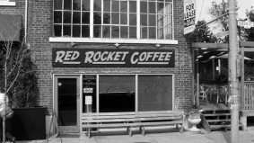 Rising rents on Queen East push out Red Rocket Coffee, which is moving to the Danforth instead