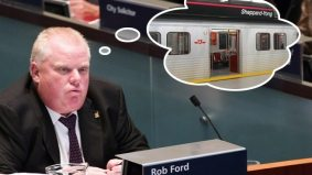 Rob Ford won't get an advance on surplus transit funds, but clings to his Sheppard subway fantasy anyway