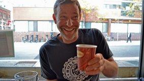 Taste testing the new Tim Hortons espresso drinks with Bulldog Coffee's Stuart Ross