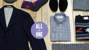8 in 1: an outfit from Harry Rosen that will carry you through the holidays